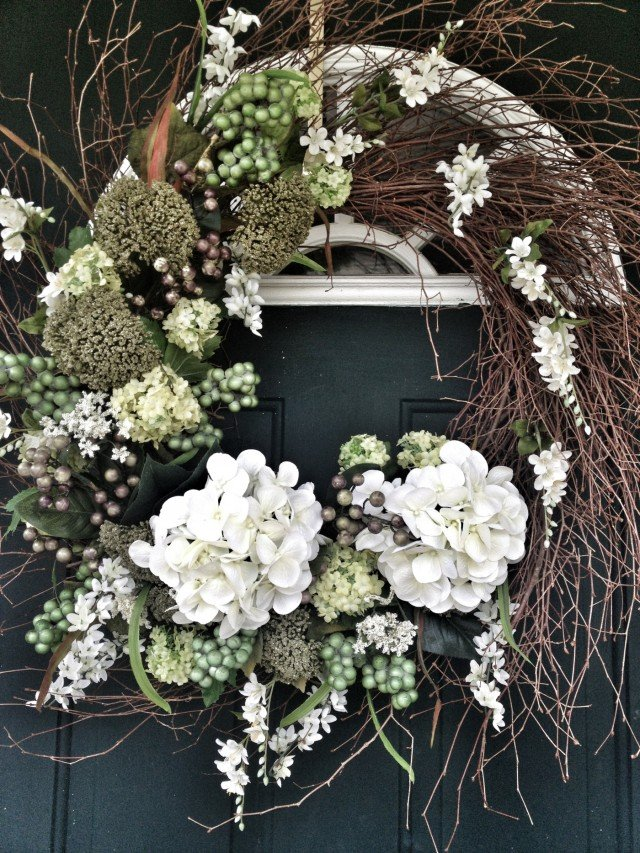 Statement Entry Wreath