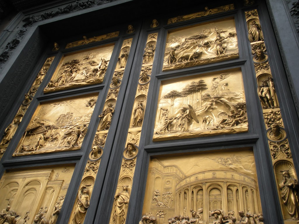 Baptistry doors of Florence