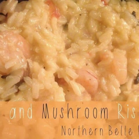 Shrimp and Mushroom Risotto