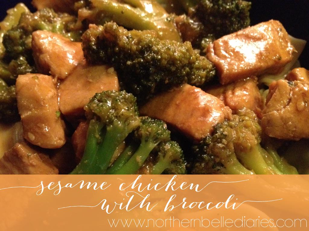 Sesame Chicken w/ Broccoli