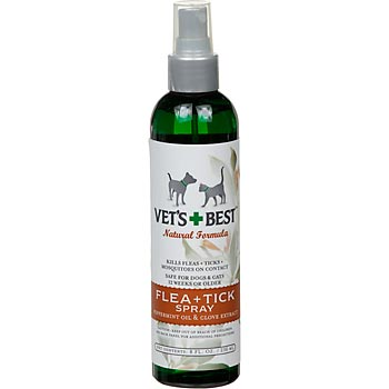 Chip and Daisy Approved: Vet's Best Flea + Tick Spray