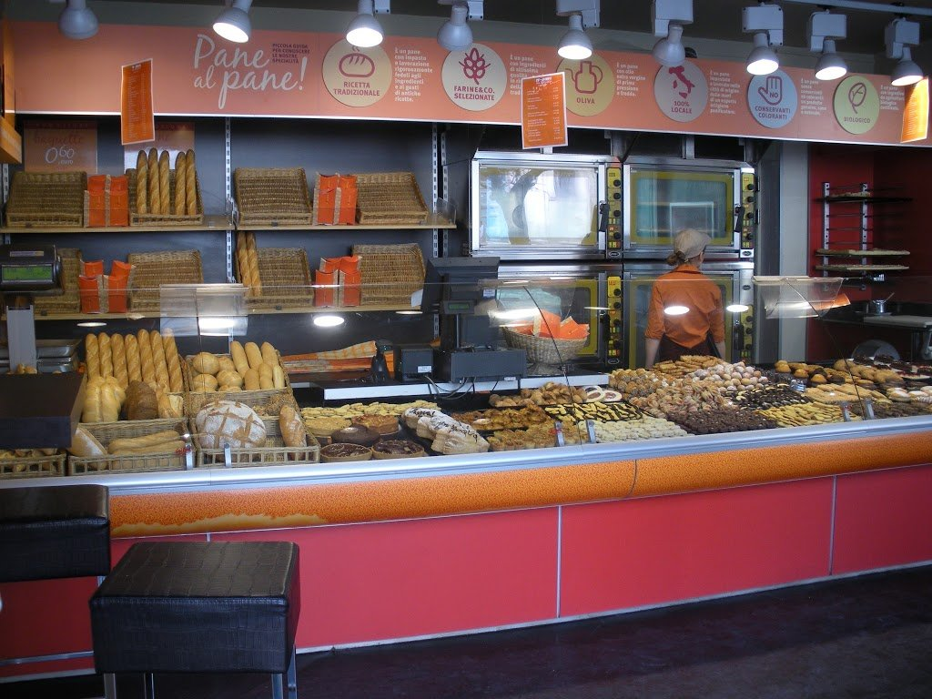 bread pasticcieria in Rome