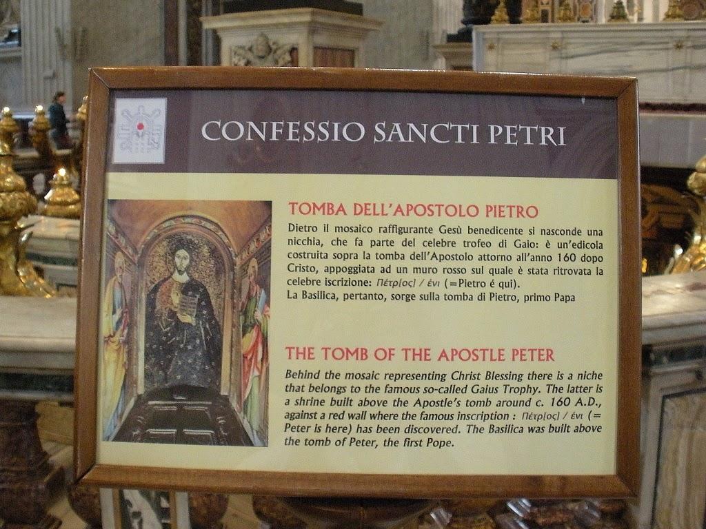 Vatican City: tomb of St. Peter