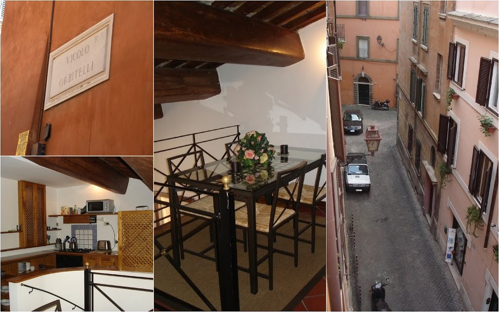 Roman apartment, Viccolo Orbitelli