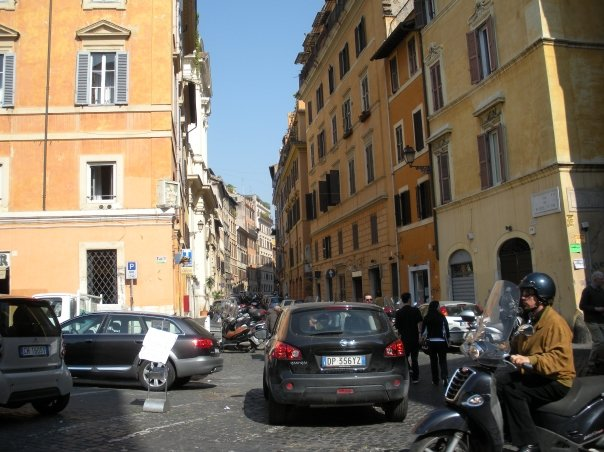 Buildings in Rome near Vatican City