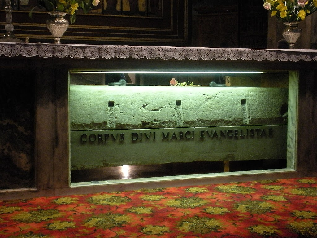 Tomb of St. Mark the Evangelist, Venice, Italy
