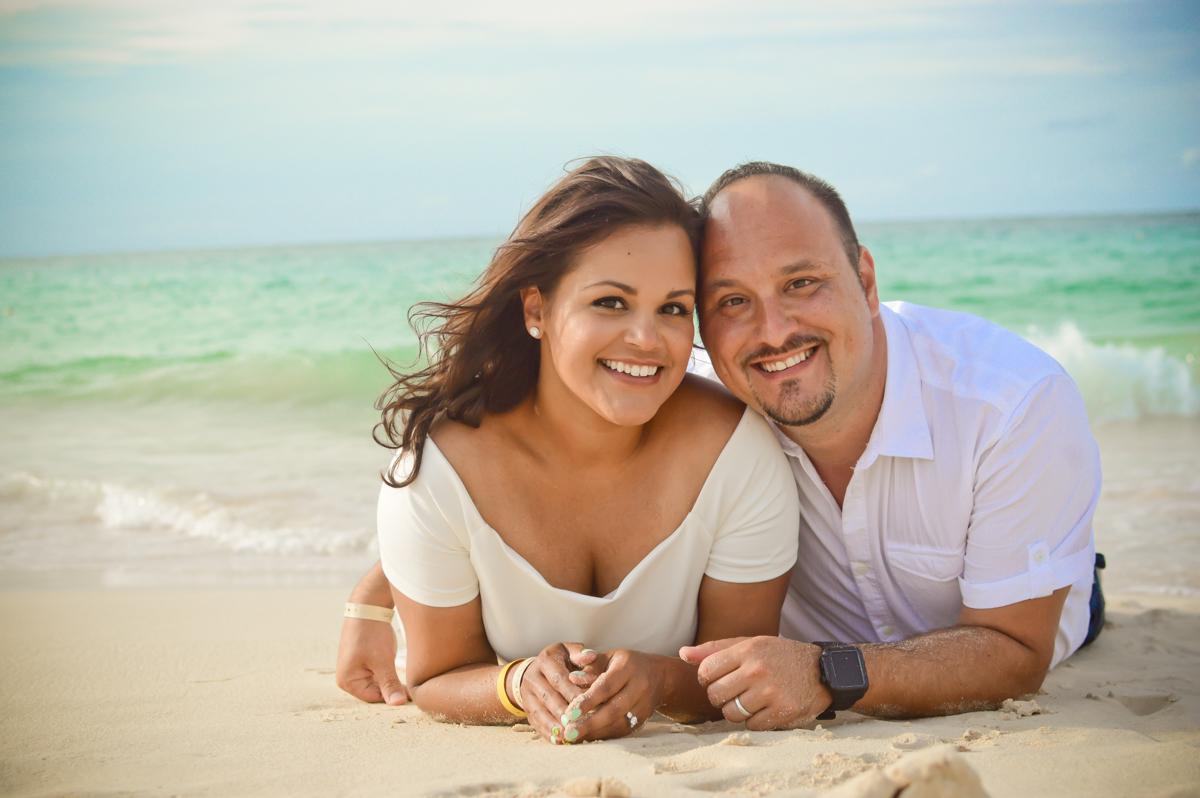 Punta Cana Barcelo couples portrait