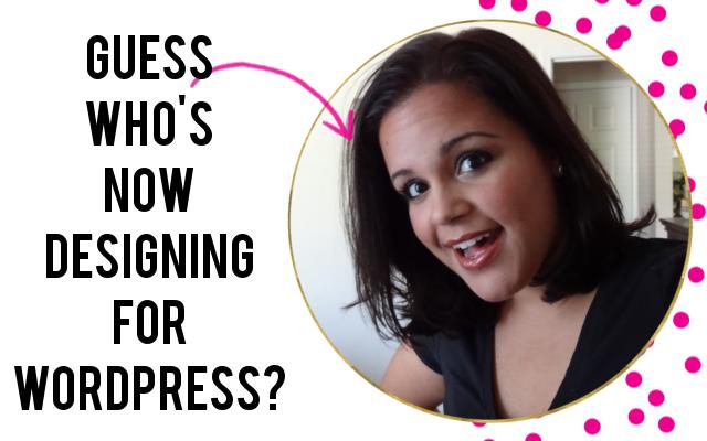 wordpress designing announcement
