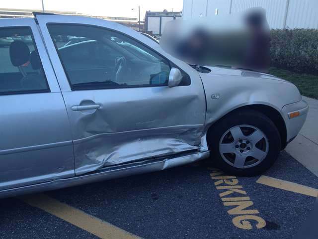 Jetta T-boned in the car accident