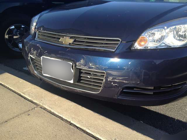 My Impala came out with only minor scratches. I guess this is where I become a spokeswoman for Chevy, right?