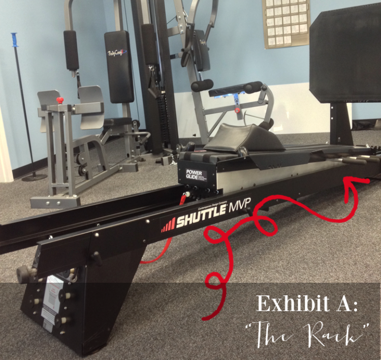 the rack - a physical therapy torture tool