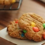 recipe M&M cookie