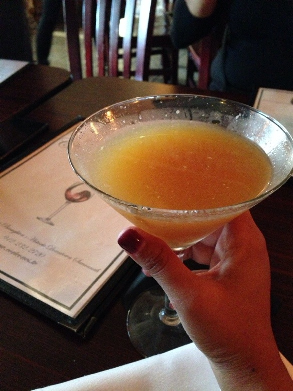 Honey Peach Martini