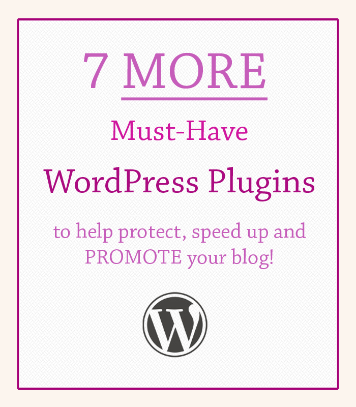 7 must have plugins WP