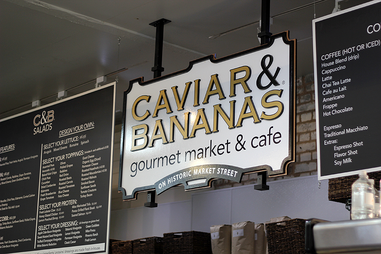 Caviar & Bananas cafe Charleston City Market