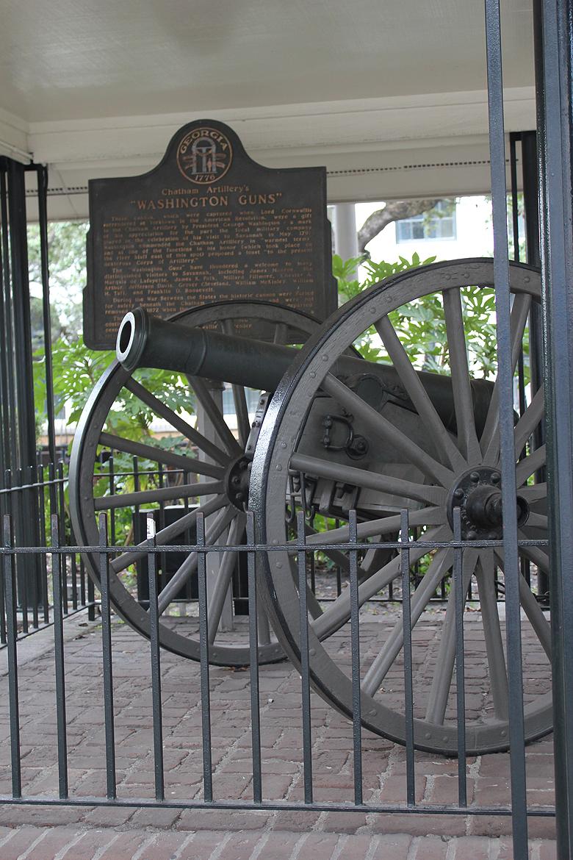 Washington's Guns Savannah