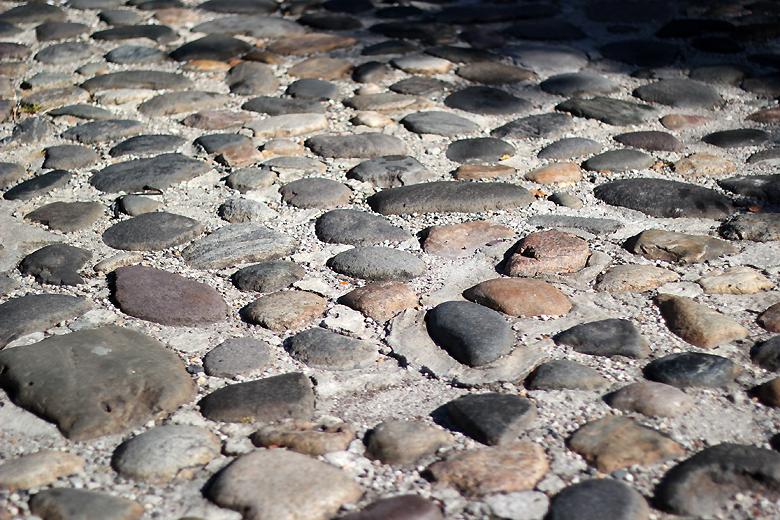 cobblestone street Charleston SC