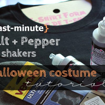 Last-minute Halloween costume idea {tutorial}