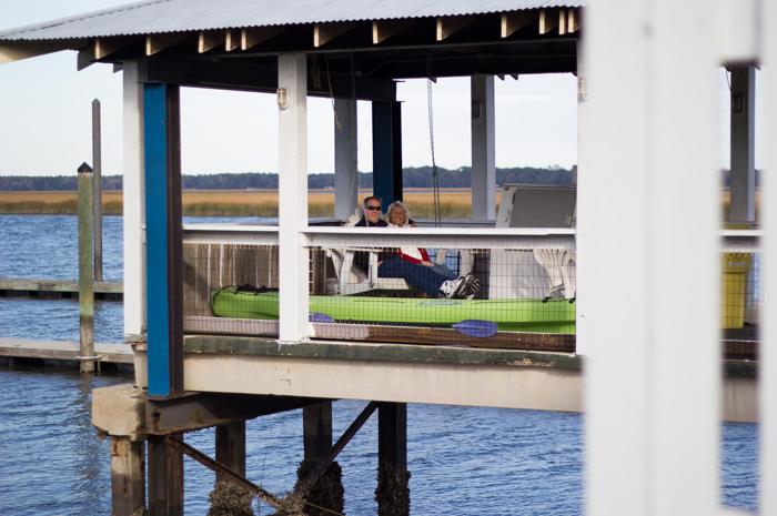 dock at Sunbury GA