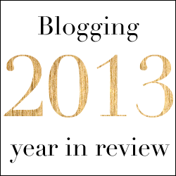 Blogging 2013: Year in Review
