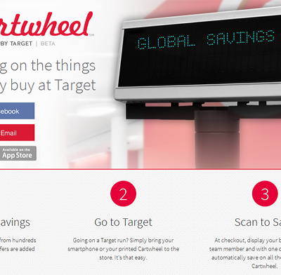 Save Money Shopping with Target Cartwheel