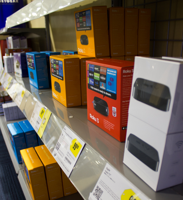 different types of online streaming devices