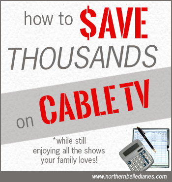 how to #save thousands on #cabletv bills