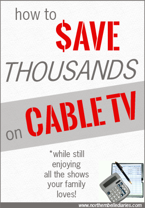 how to #save thousands on #cableTV