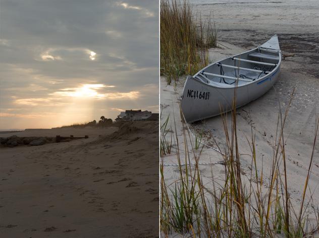 Edisto sunset and boat