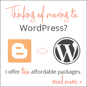 Blogger to WordPress Migration Packages