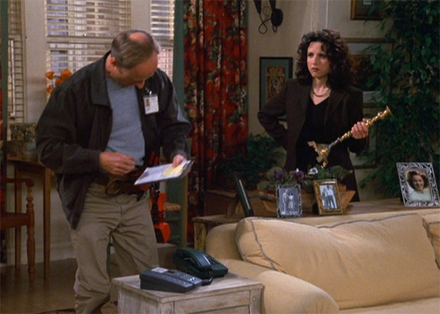 elaine benes gets new phone number