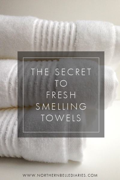 The Secret to Fresh-Smelling Towels