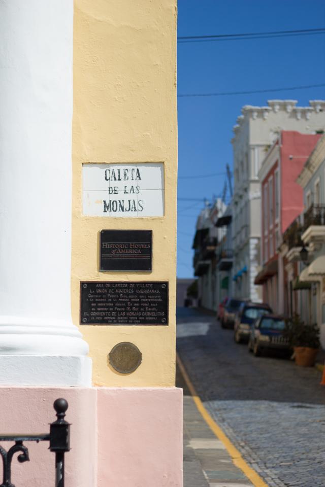 Caleta de las Monjas Old San Juan Puerto Rico