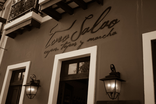 Toro Salao restaurant Old San Juan Puerto Rico
