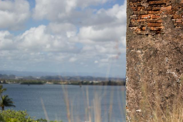 ancient bricks of Old San Juan Puerto Rico