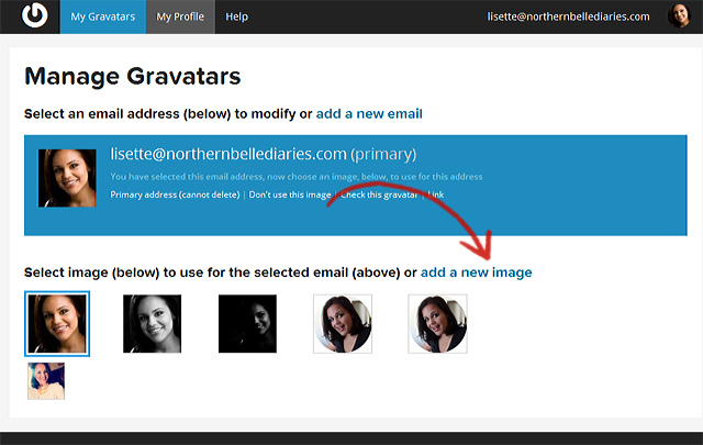 How to Create a Gravatar Image for WordPress | La La Lisette