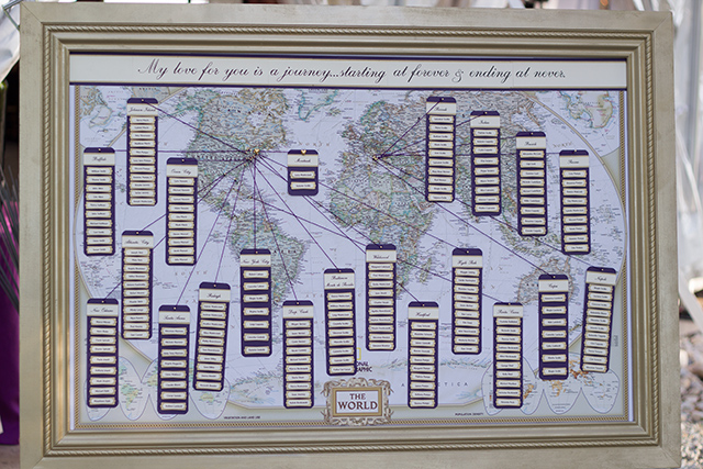 Creative Place Seating Chart for Weddings