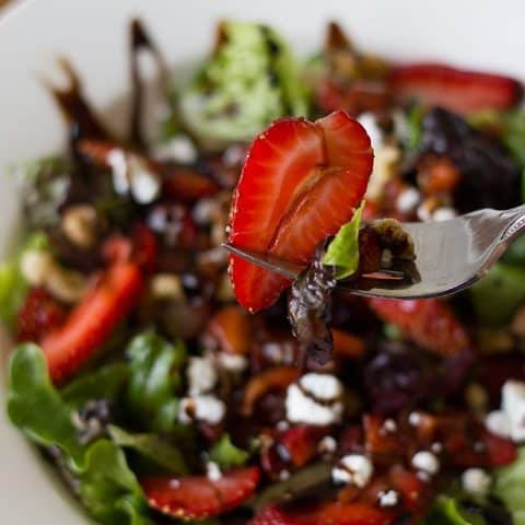 fork-with-strawberry-balsamic-salad