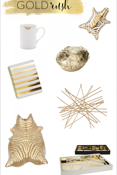 Gold Rush | Currently Coveting