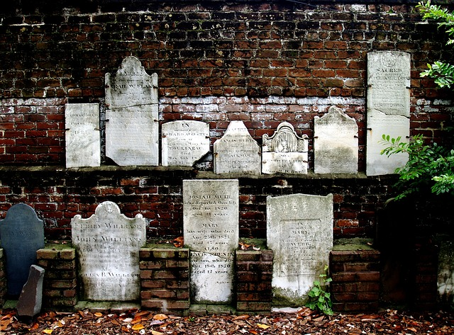 civil war tombstones