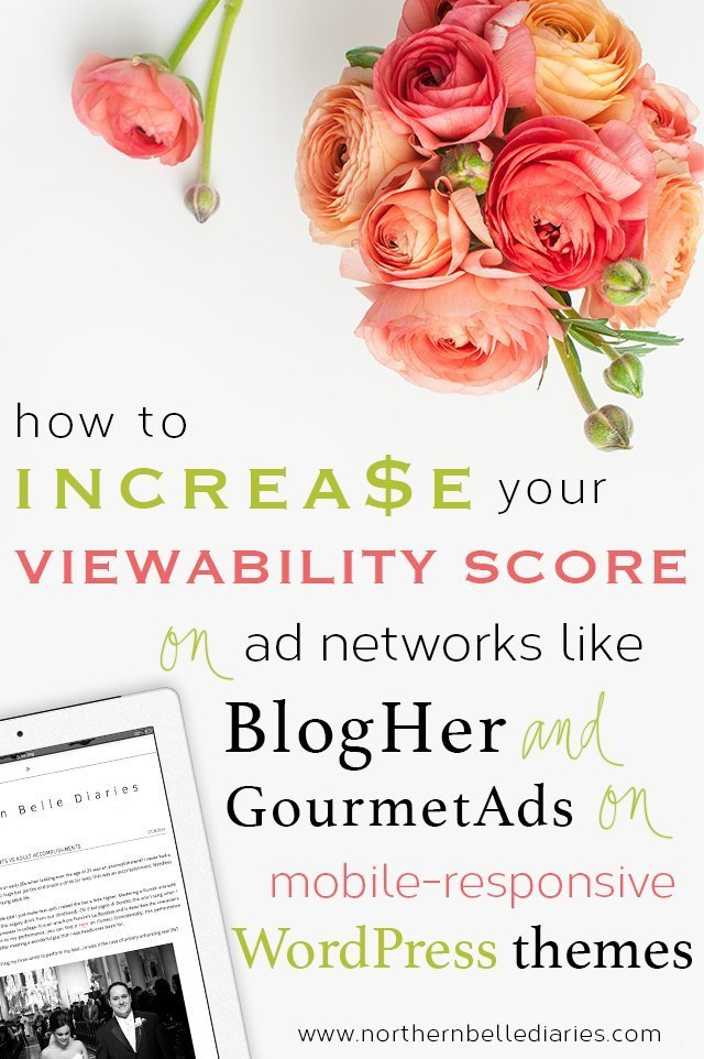 How to Improve BlogHer Ads Viewability Scores on Mobile-Responsive Themes