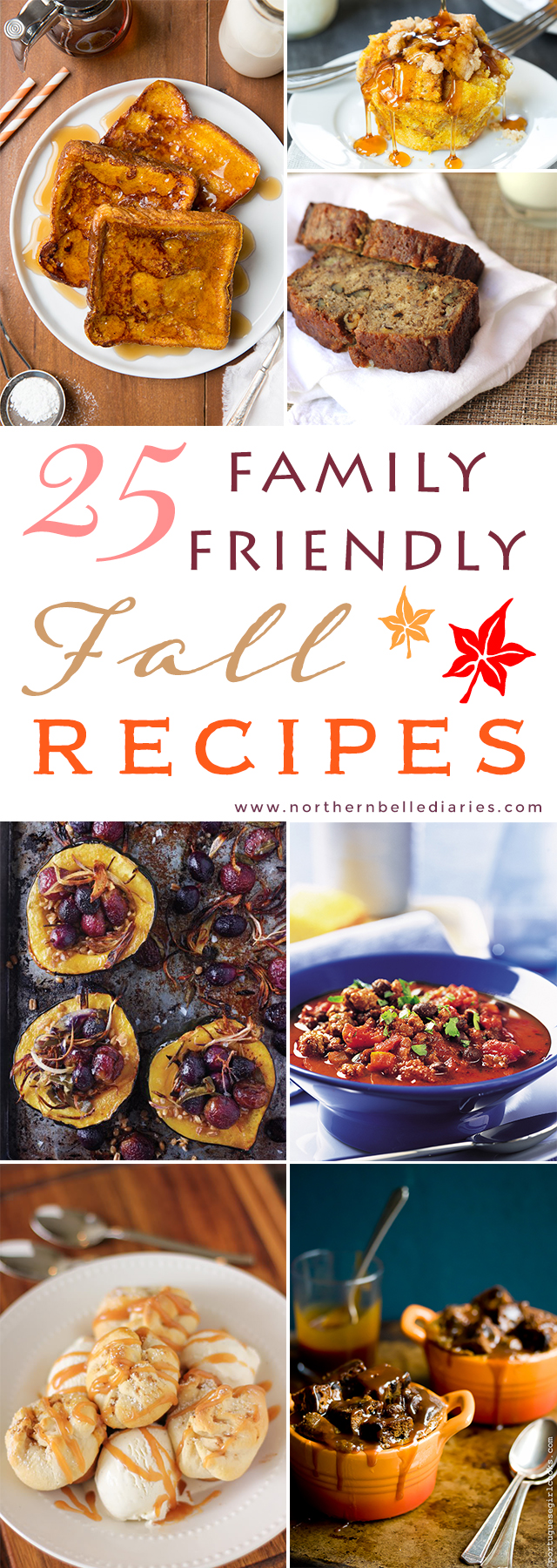 25 Family Friendly Fall Recipes