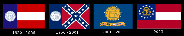 Georgia flags