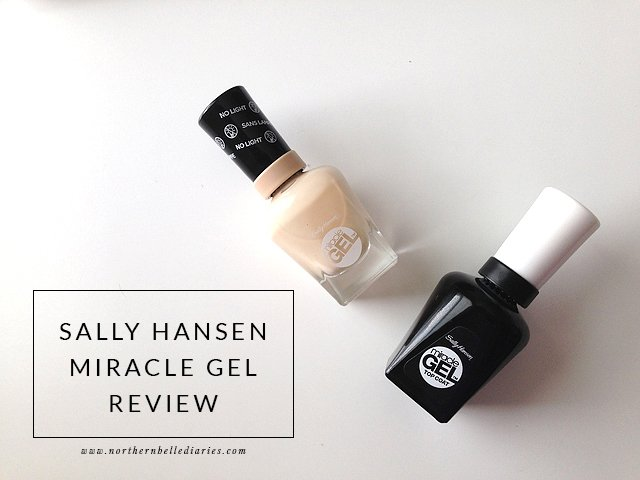 Sally Hansen Miracle Gel review via @NBelleDiaries #nails #beauty #review #notd