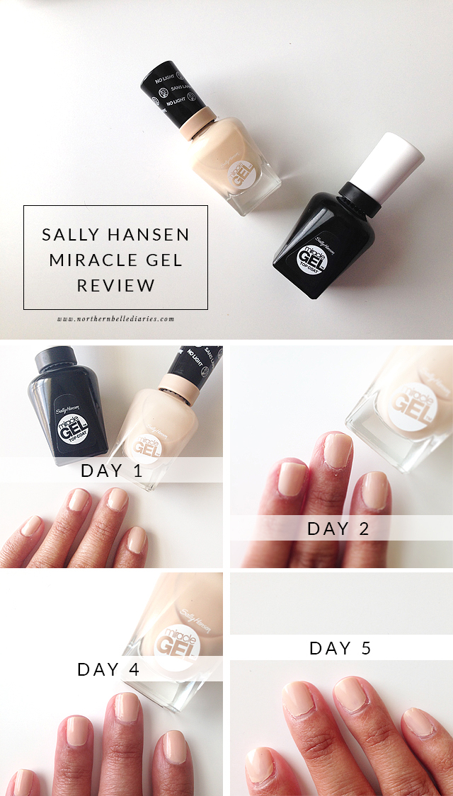 Sally Hansen Miracle Gel via @NBelleDiaries #nail #nails #beauty #beautyreview