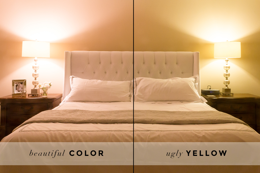 GE Reveal bed and nightstand comparison #100reveal