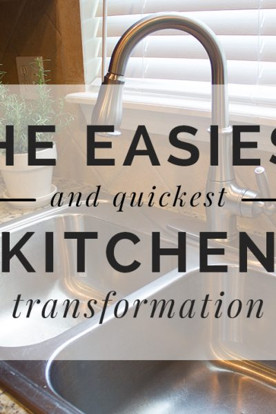 Kitchen Transformation #Moen #Reflex copy