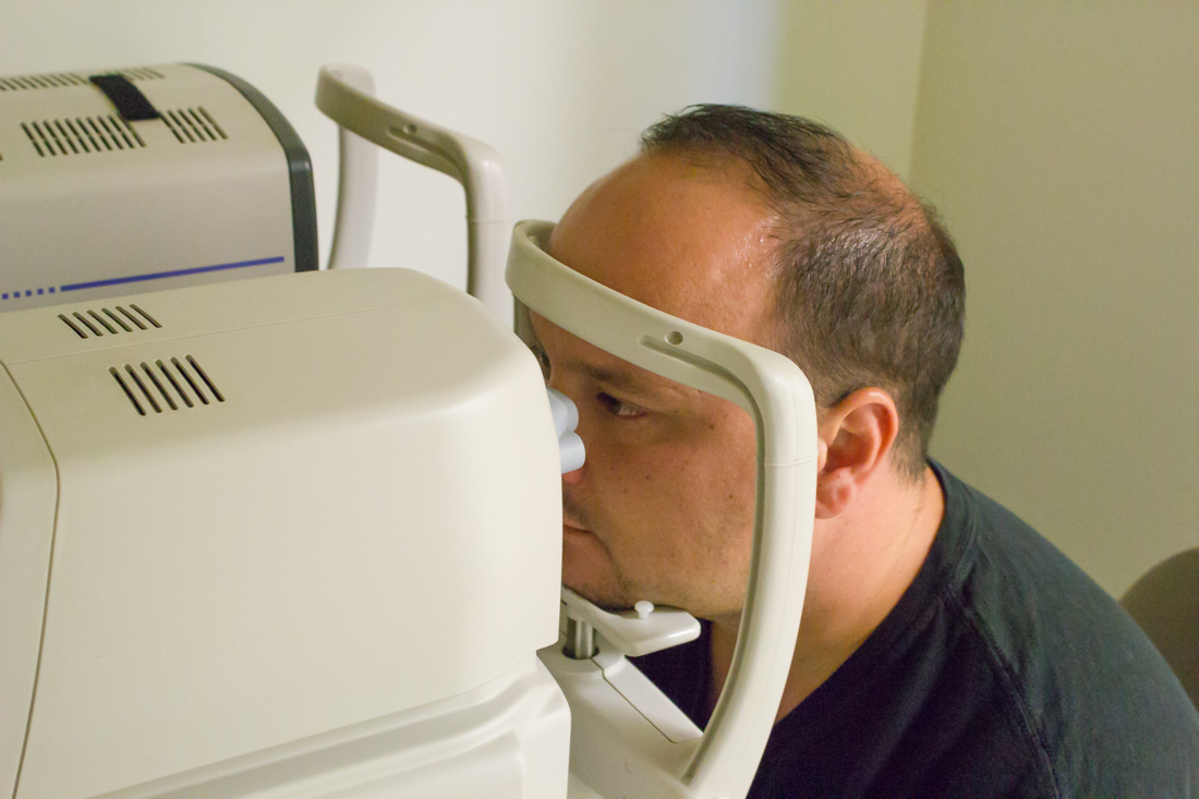 B Optomap exam Pearle Vision - Jacksonville FL