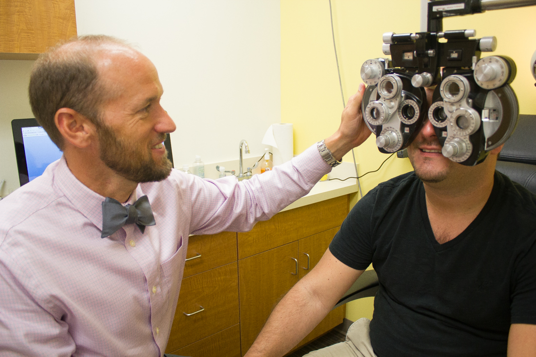 eye exam by Dr. Womack at Pearle Vision in St. Johns Town Center, Jacksonville, FL
