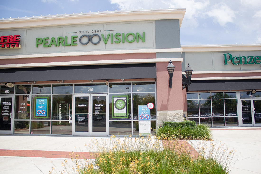 Pearle Vision in Jacksonville, Florida. St. John's Town Center.